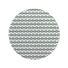 """Baby Woodland Owls Pattern 3.5"""" Button (100 pack)"""