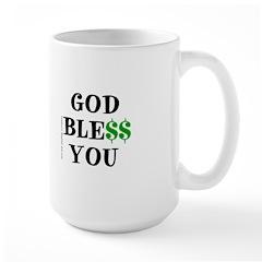 GOD BLE$$ YOU Mug