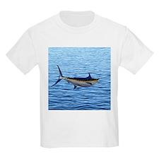 Blue Marlin on Water T-Shirt