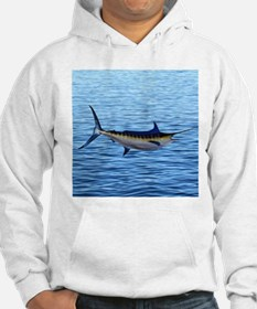 Blue Marlin on Water Hoodie