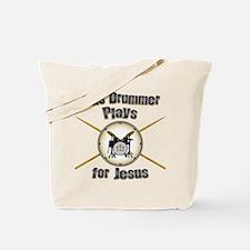 Drum for Jesus Tote Bag