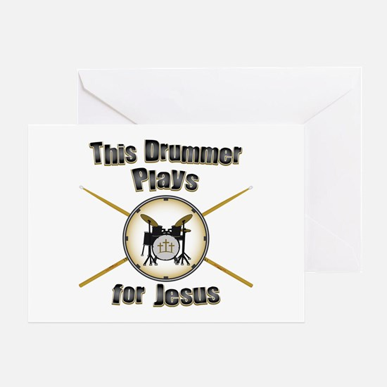 Drum for Jesus Greeting Card
