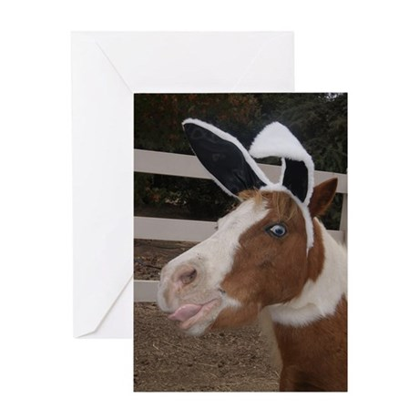 Bunny Ears Greeting Card