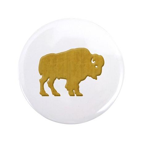 "American Bison 3.5"" Button"