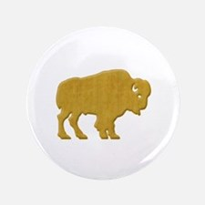 "American Bison 3.5"" Button"