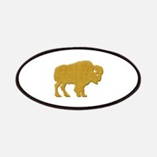 American Bison Patches