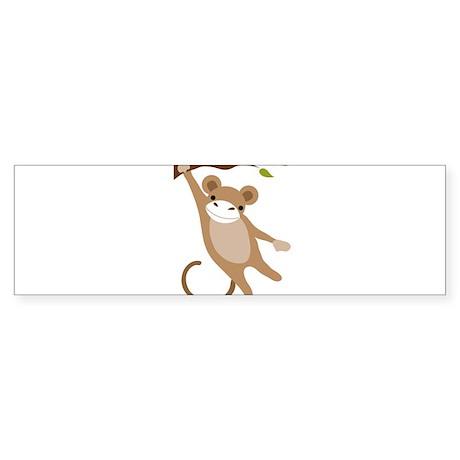 Monkey Sticker (Bumper)