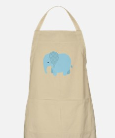 Blue Safari Elephant Apron
