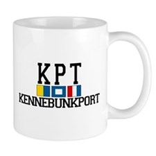 Kennebunkport ME - Varsity Design. Mug