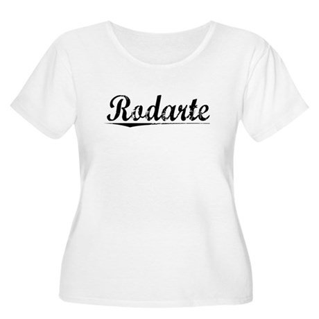 Rodarte, Vintage Women's Plus Size Scoop Neck T-Sh
