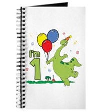 Dino First Birthday Journal