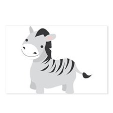 Gray Zebra Postcards (Package of 8)