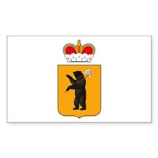 Yaroslavl Coat of Arms Rectangle Decal
