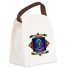 North Dakota diamond.png Canvas Lunch Bag