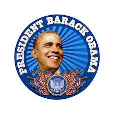 """Obama - Biden 2012 3.5"""" Button"""