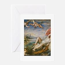Rubens Vintage Painting Greeting Card
