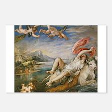 Rubens Vintage Painting Postcards (Package of 8)
