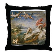 Rubens Vintage Painting Throw Pillow