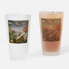 Rubens Vintage Painting Drinking Glass