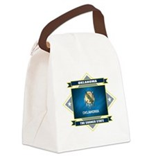 Oklahoma diamond.png Canvas Lunch Bag