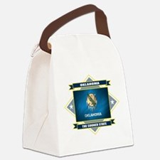 Oklahoma diamond.png Canvas Lunch Bag