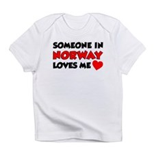 Someone Norway Loves Me Infant T-Shirt