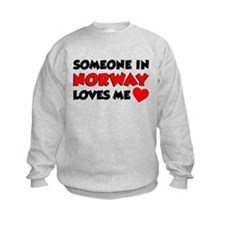 Someone Norway Loves Me Sweatshirt