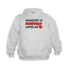 Someone Norway Loves Me Hoodie