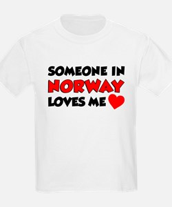Someone Norway Loves Me T-Shirt
