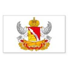 Voronezh Coat of Arms Rectangle Decal