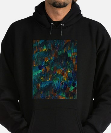 Nightfall on hillside Sweatshirt