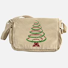 Christmas Tree Messenger Bag