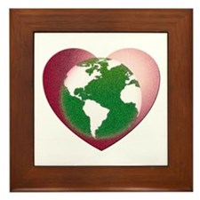 Love the Earth Framed Tile