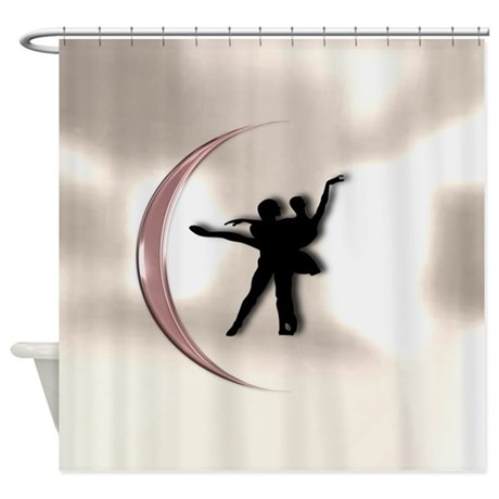 Ballet Dance Pink Shower Curtain by TheShowerCurtain