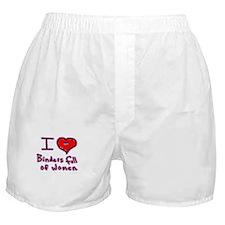 i love binders full of women Mitt Romney Boxer Sho
