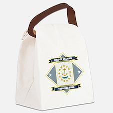 Rhode Island diamond.png Canvas Lunch Bag