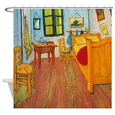 Van Gogh Bedroom In Arles Shower Curtain