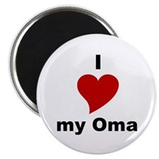 I Love My Oma Magnet