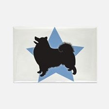 American Eskimo Rectangle Magnet