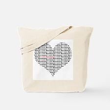 I Love Showmances Tote Bag