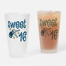 Sweet 16 Drinking Glass