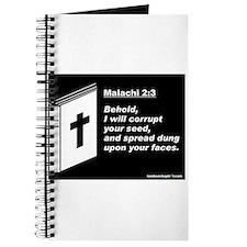 Malachi 2:3 Journal