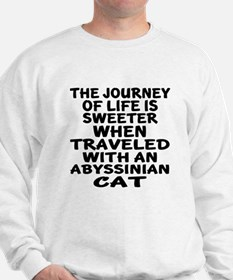 Traveled With abyssinian Cat Sweatshirt
