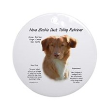 Toller Ornament (Round)