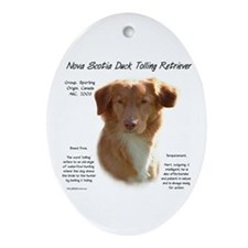 Toller Oval Ornament