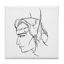 Elven Suitor Tile Coaster