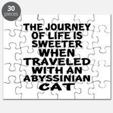 Traveled With abyssinian Cat Puzzle