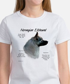Norwegian Elkhound Women's T-Shirt