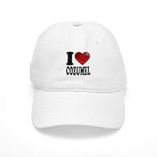 I Heart Cozumel Baseball Cap