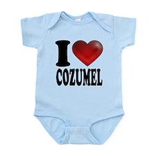 I Heart Cozumel Infant Bodysuit